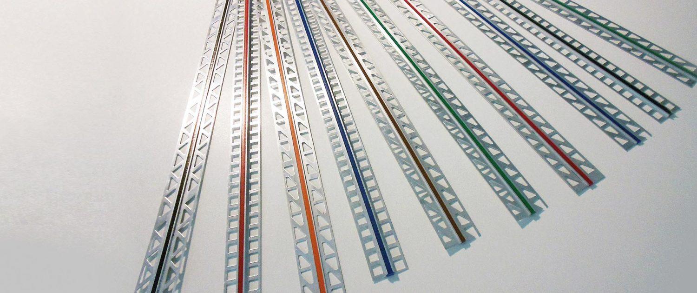 PROFIL Kunststoff GmbH - einzelne Dehnfugenprofile in verschiedenen Farben SLIDER